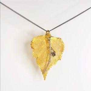 ♡ 2 for 20$ ♡ Gold Leaf Necklace